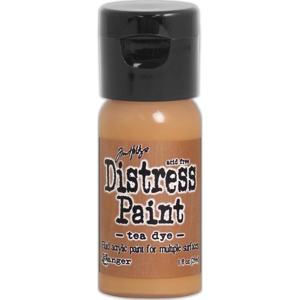 distress paint Tea Dye