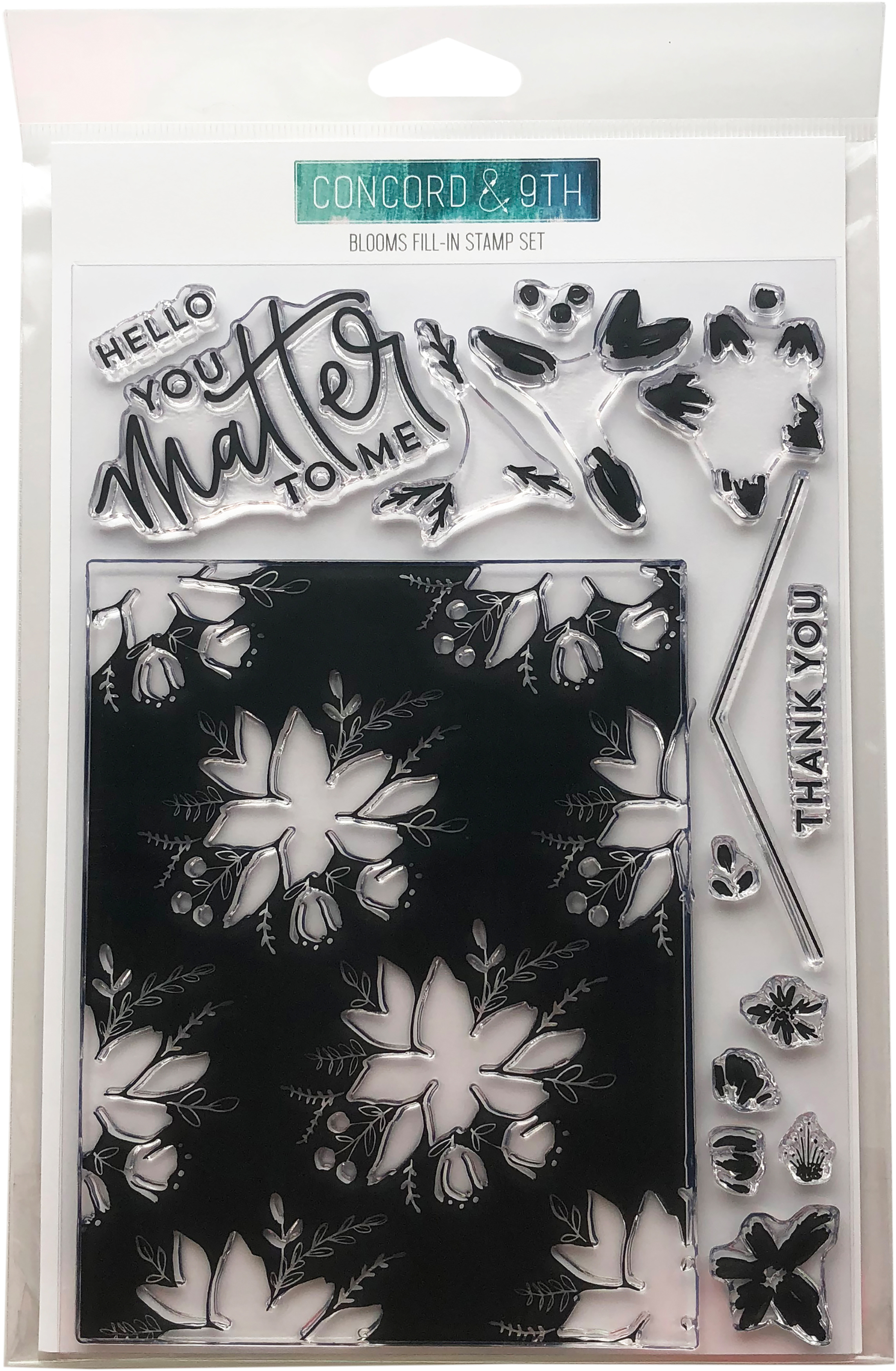 Bloom Fill In Stamp Set