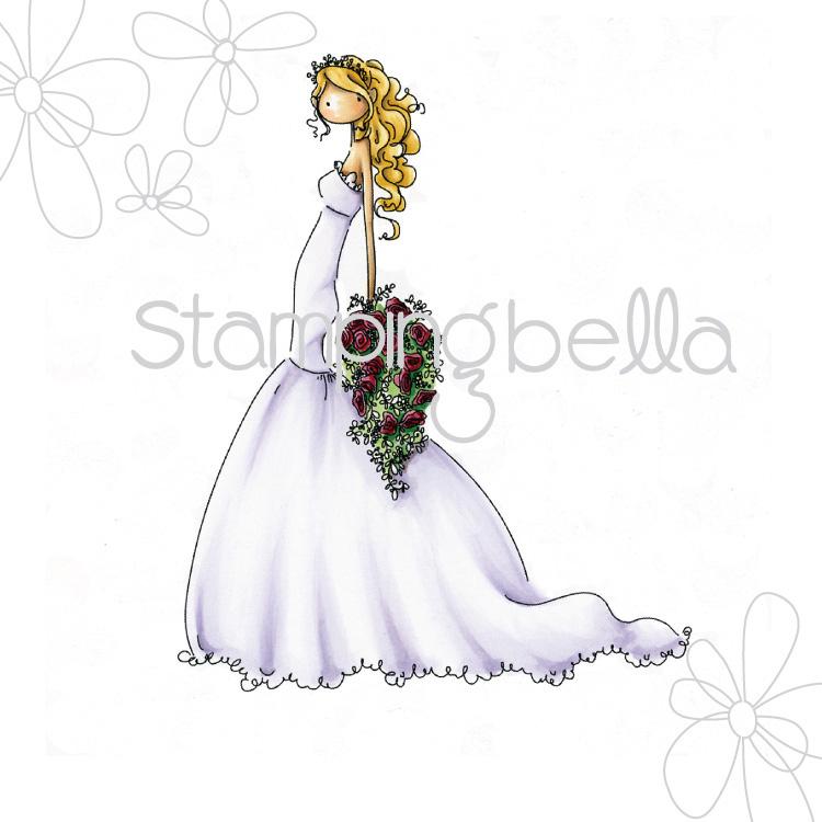 Stamping Bella Cling Stamps - Brigitte The Bride