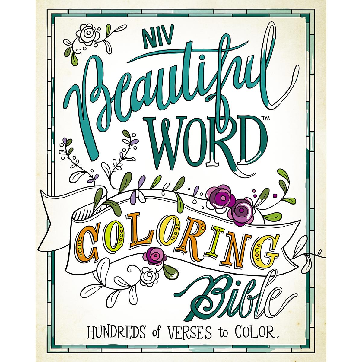 BEAUT WORD-NIV COLORING BIBLE