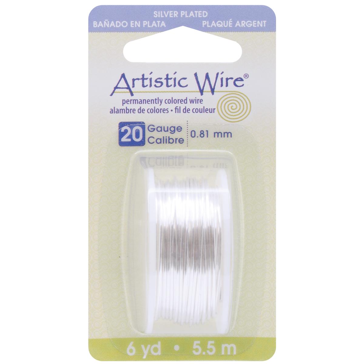 Artistic Wire-Silver - 20 Gauge, 6yd