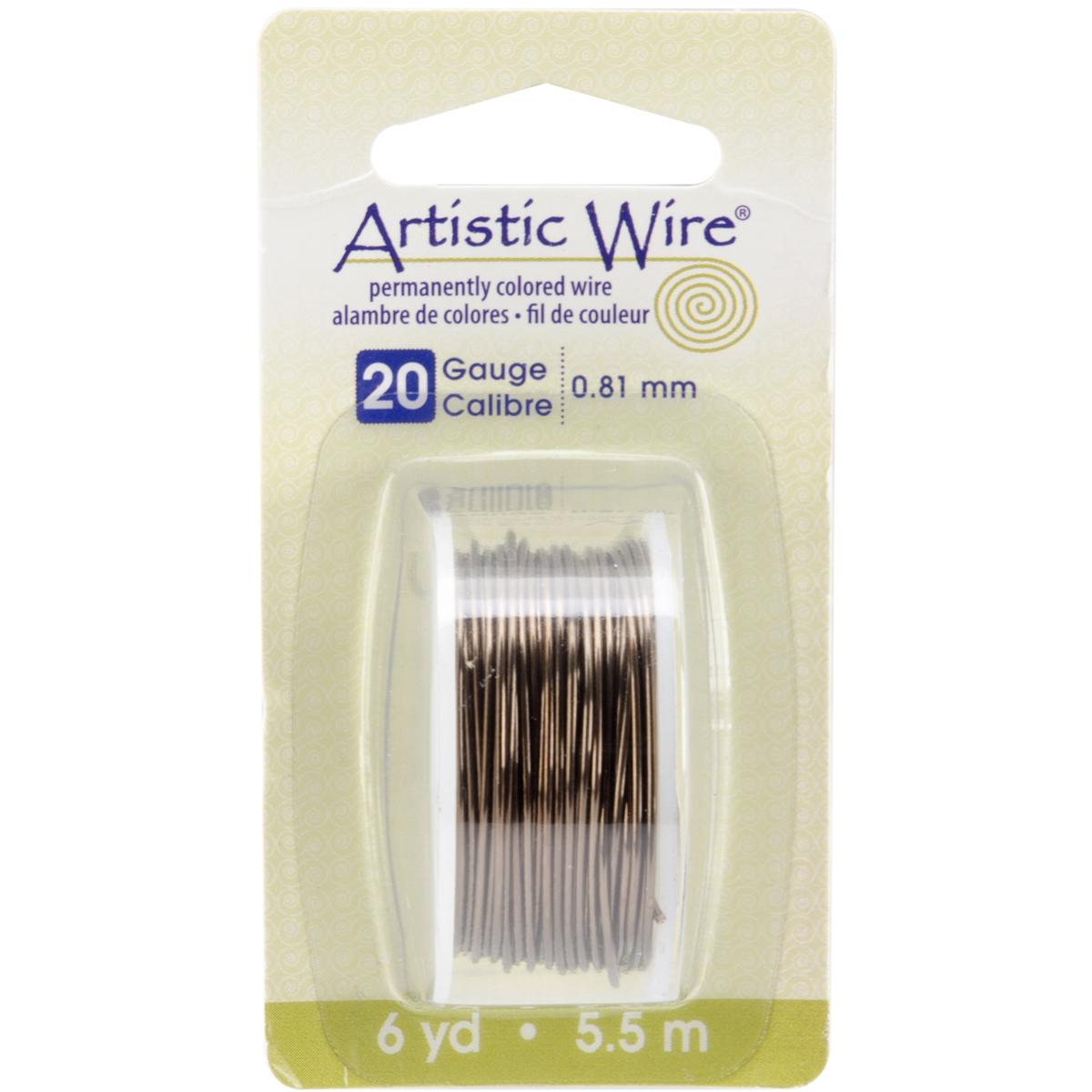 Artistic Wire-Gun Metal - 20 Gauge, 6yd