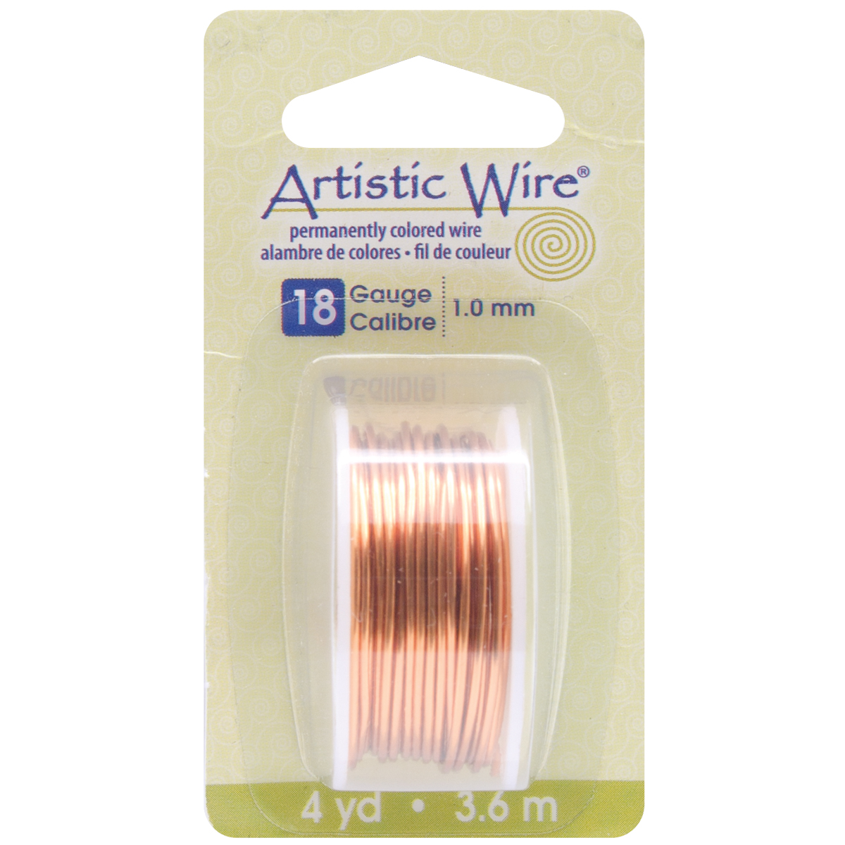 Artistic Wire-Natural - 18 Gauge, 4yd