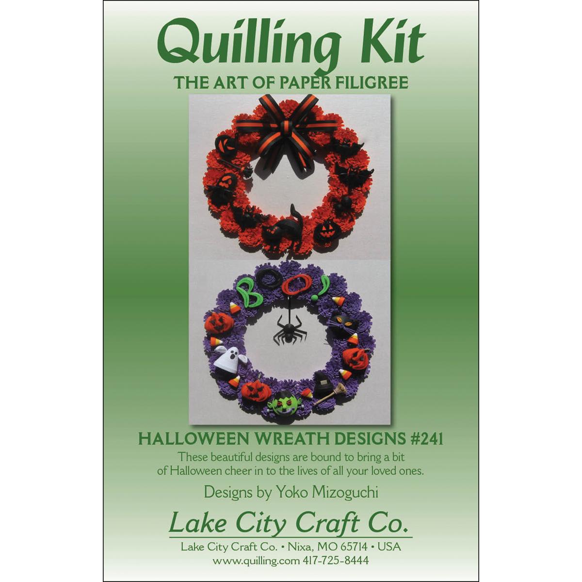 Halloween Wreath  Quilling Designs