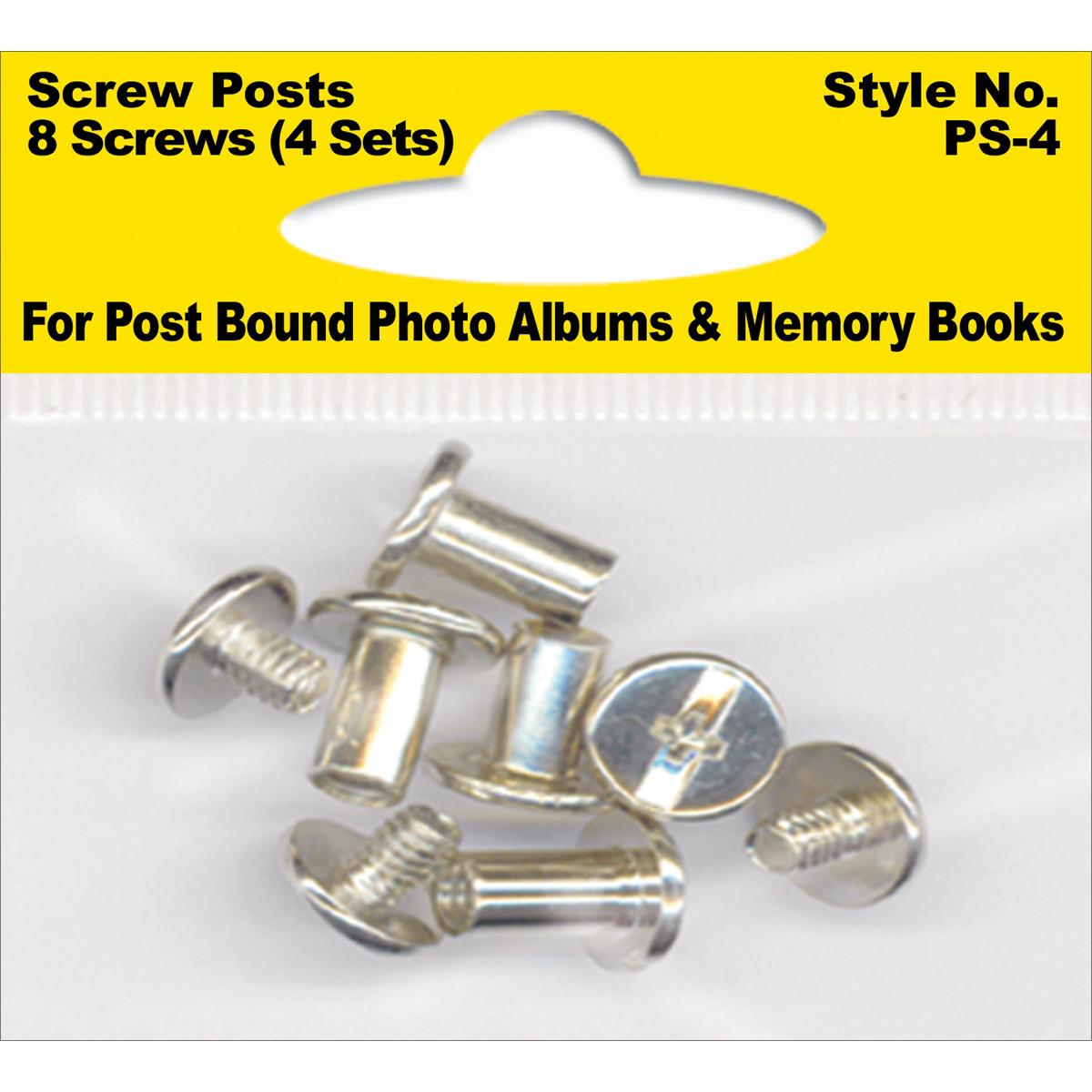 screw post pack of 8