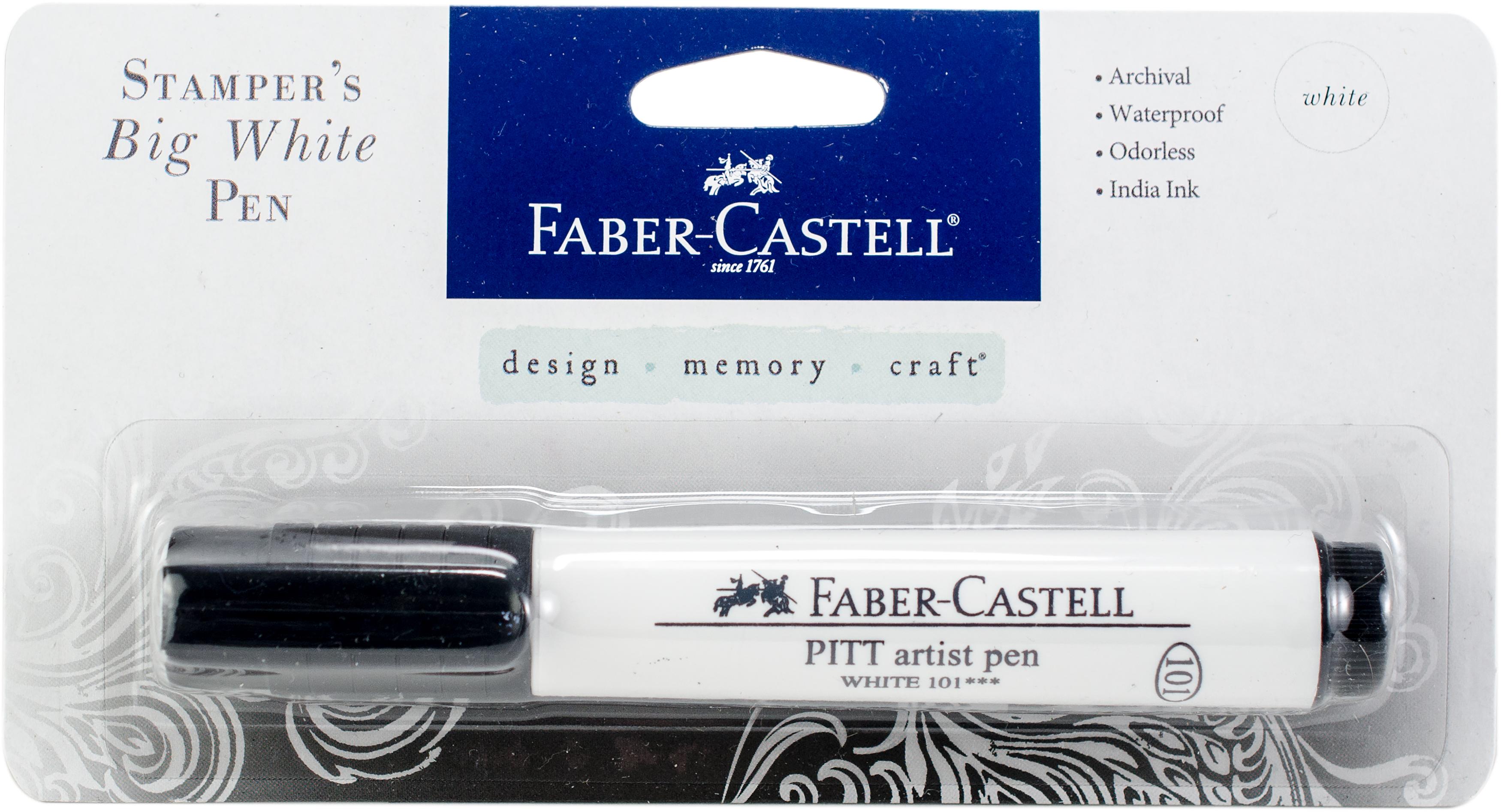 Stamper's Big Brush Pen-White