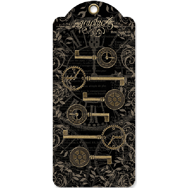 Metal Clock Keys