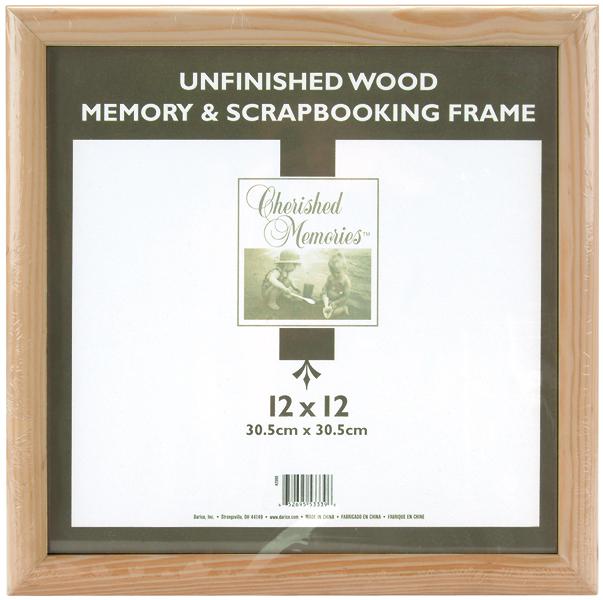 UnFinished 12X12 Frame