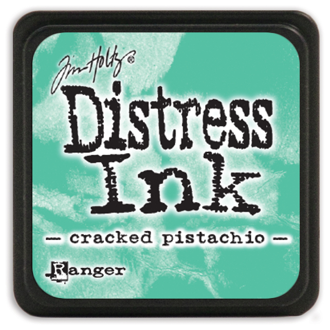 Tim Holtz Distress Mini Ink Pad-Cracked Pistachio