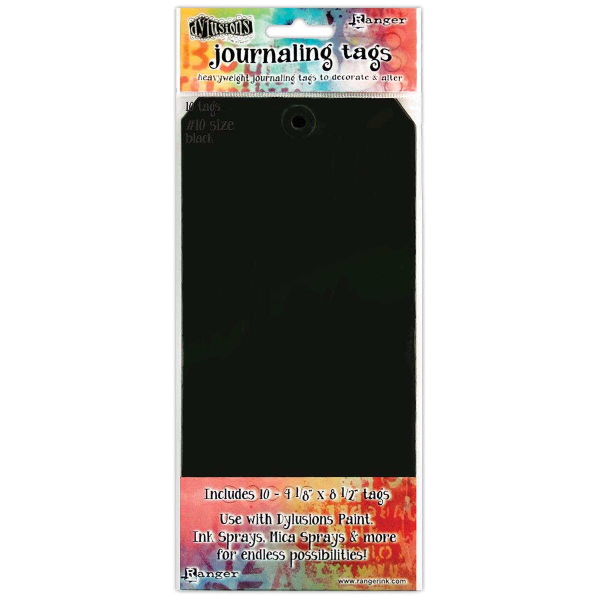 black dylusions tag #10