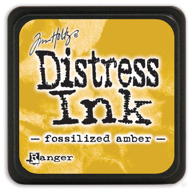 Tim Holtz Distress Mini Ink Pad-Fossilized Amber