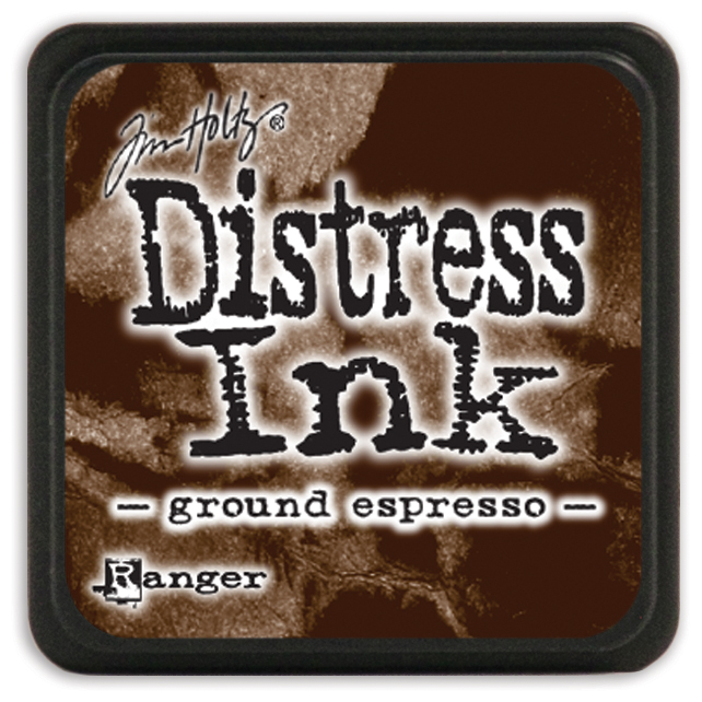 Tim Holtz Distress Mini Ink Pad-Ground Espresso