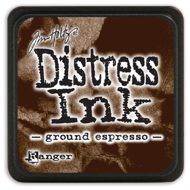 Tim Holtz Distress Mini Ink Pad-Ground Espresso
