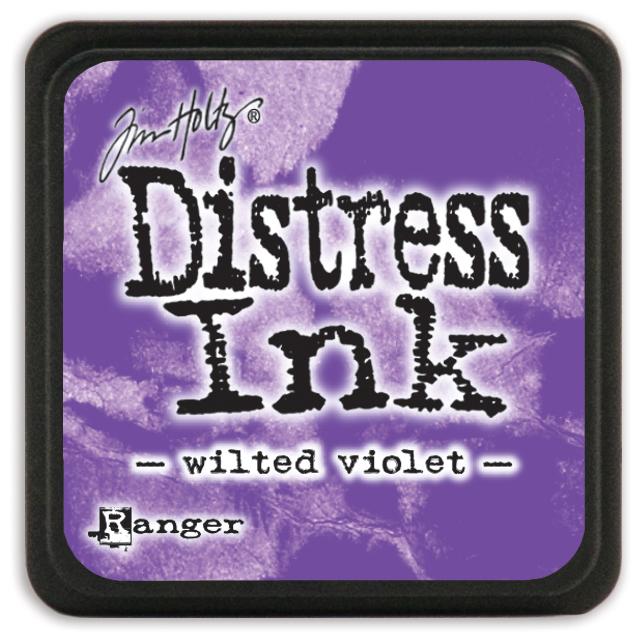 Tim Holtz Distress Mini Ink Pad-Wilted Violet