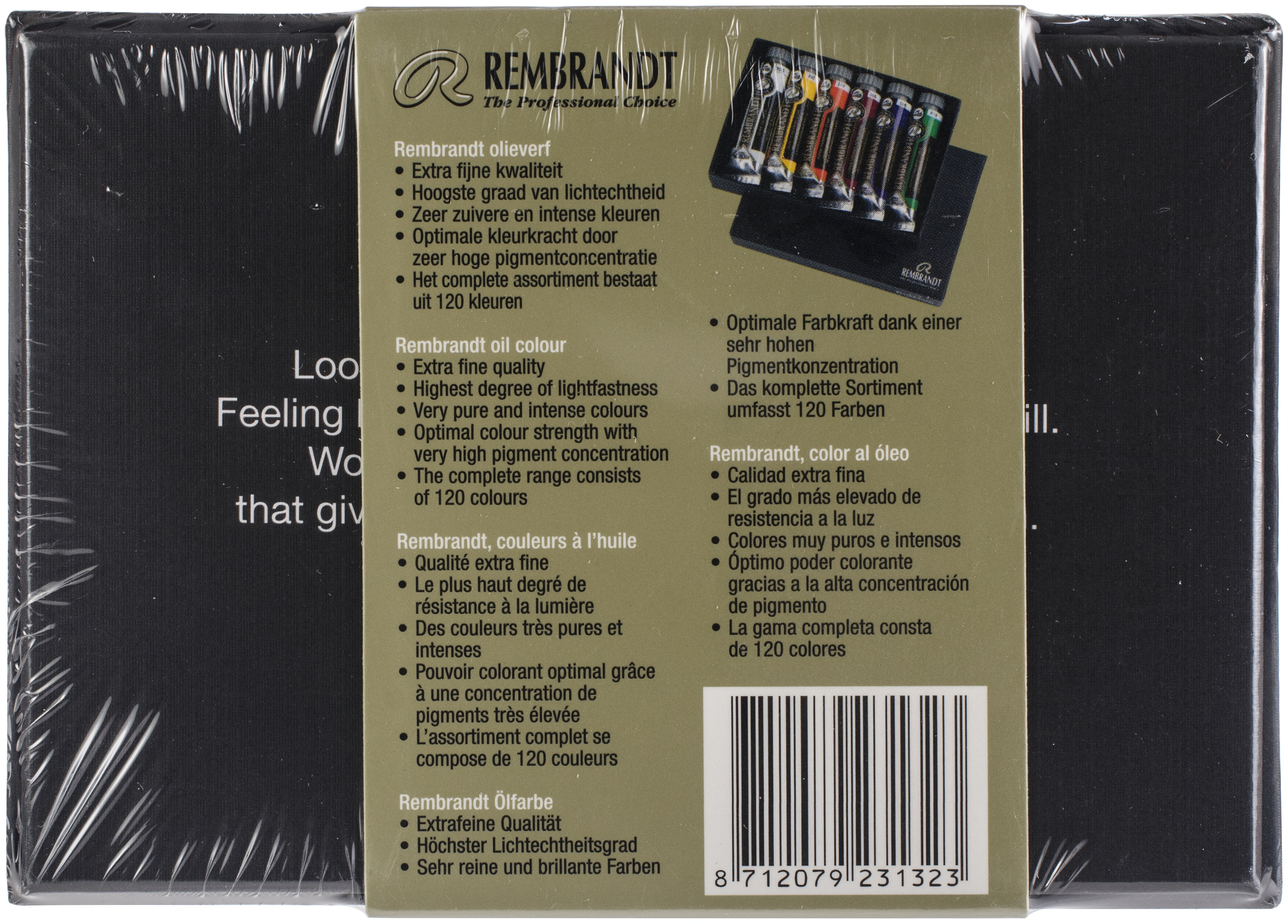 Rembrandt 15ml Oil Paint Set 6/Pkg-Starter