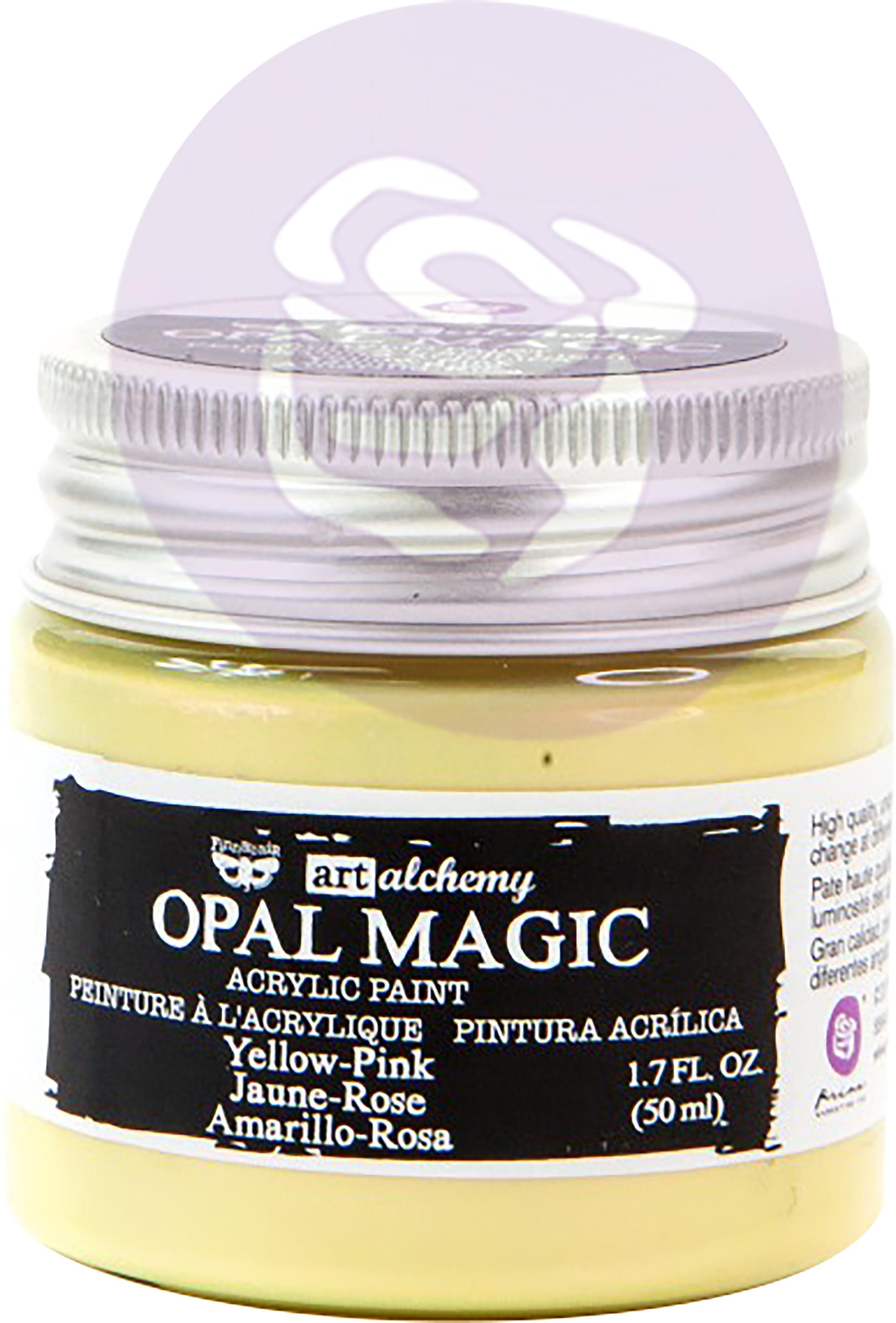 Opal Magic - Yellow/Pink