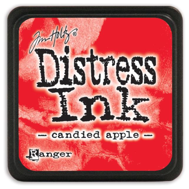 Tim Holtz Distress Mini Ink Pad-Candied Apple