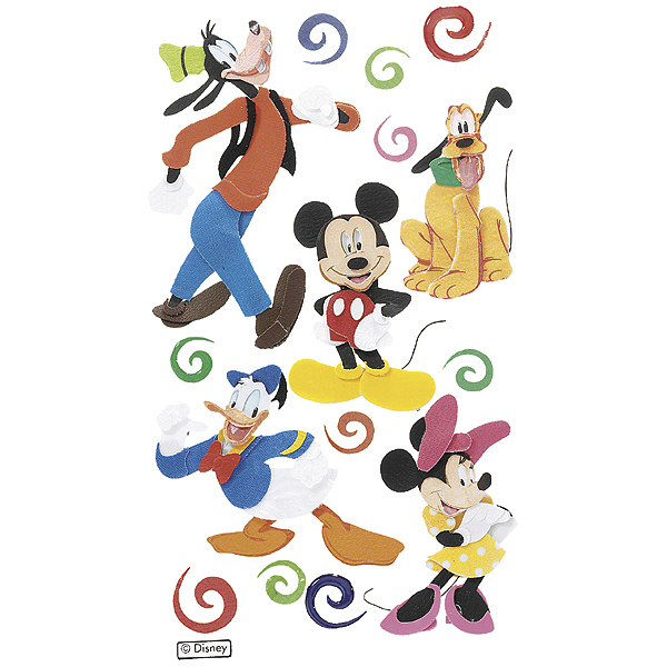 Disney Dimensional Stickers-Mickey & Friends