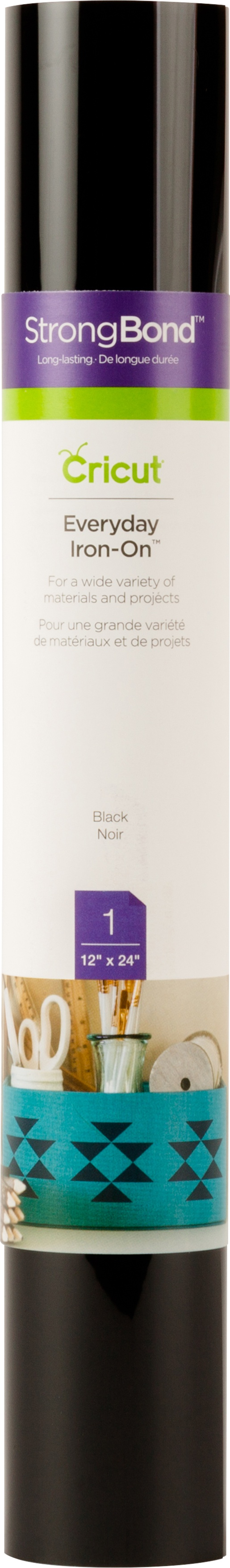 BLACK     -IRON-IN VINYL
