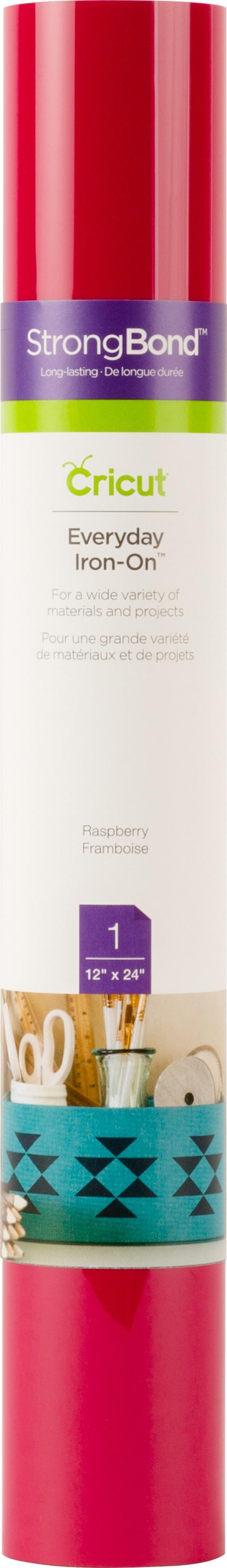 Cricut Everyday Iron-On Vinyl 12X24 Roll-Raspberry