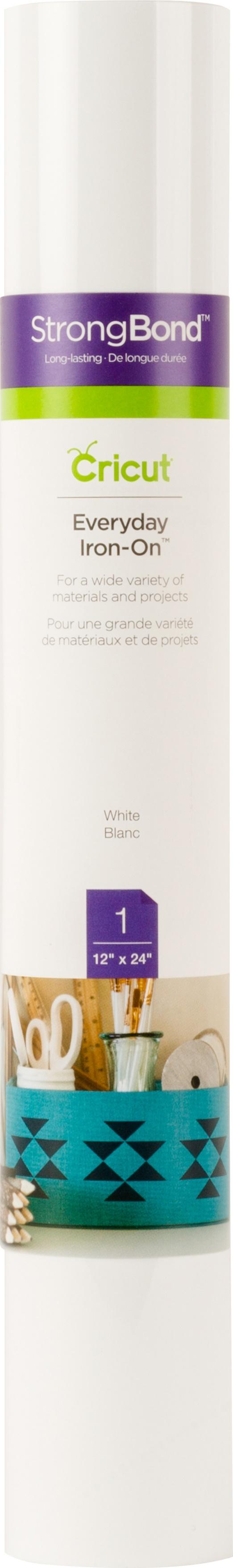 WHITE     -IRON-ON VINYL