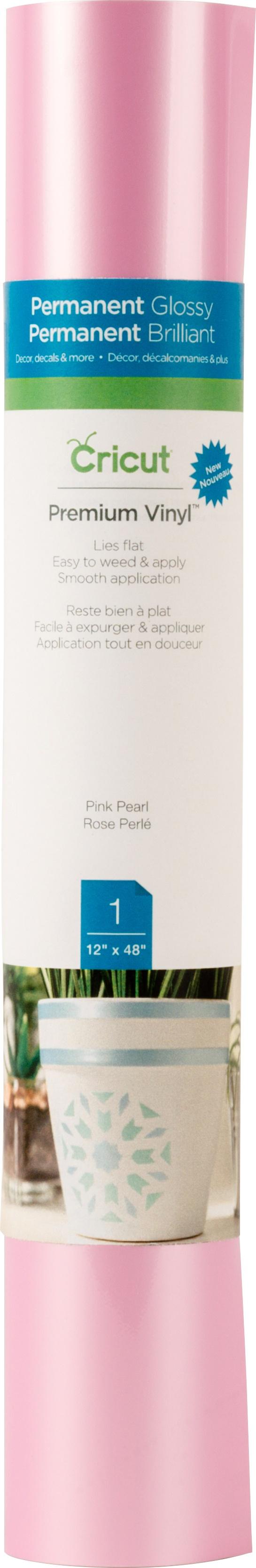 PINK PEARL-CRICUT VINYL 12X48