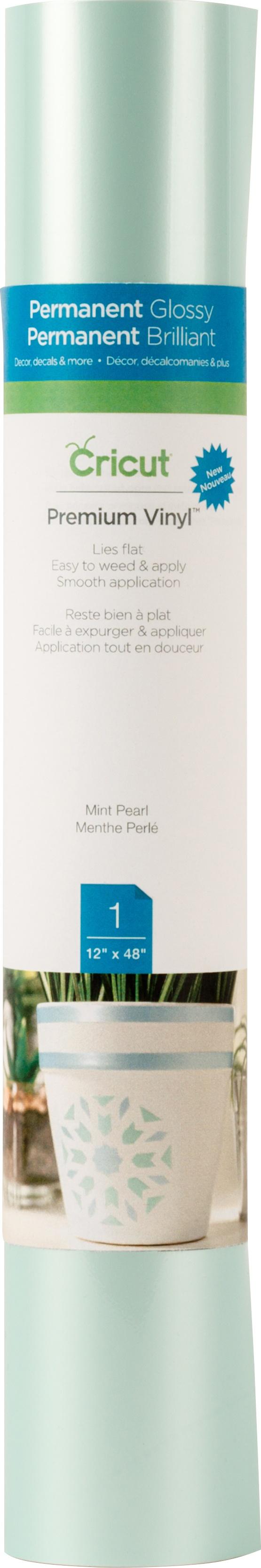 MINT PEARL-CRICUT VINYL 12X48