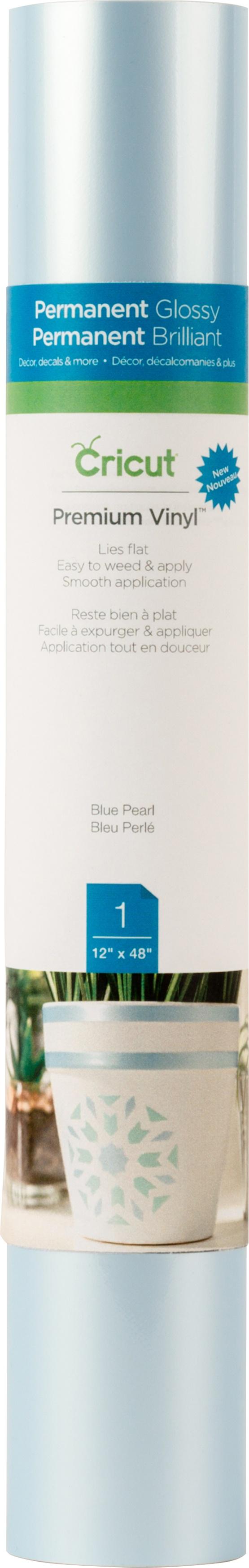 BLUE PEARL-CRICUT VINYL 12X48