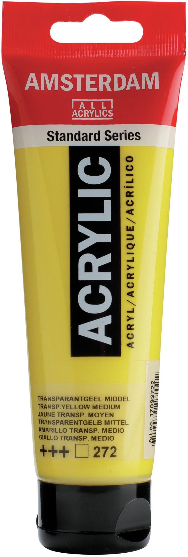Amsterdam Standard Acrylic Paint 120ml-Titanium White