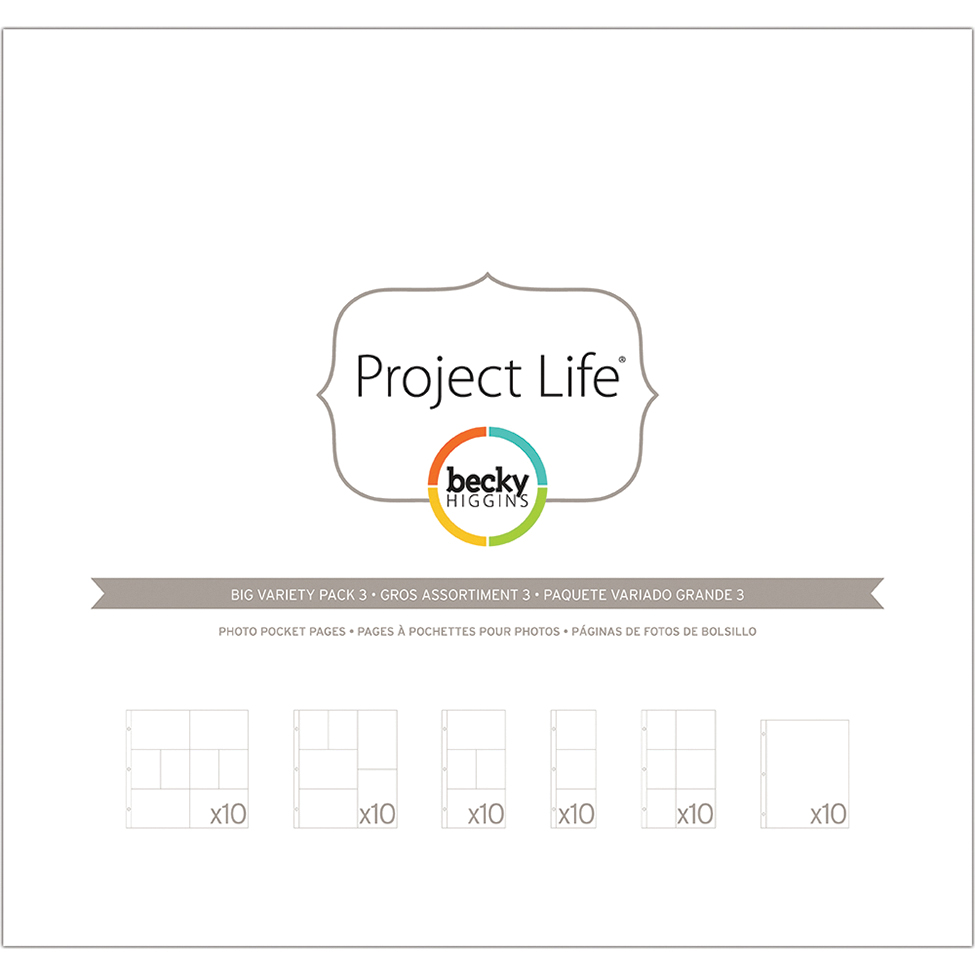 Project Life Photo Pages Big Variety Pack 3