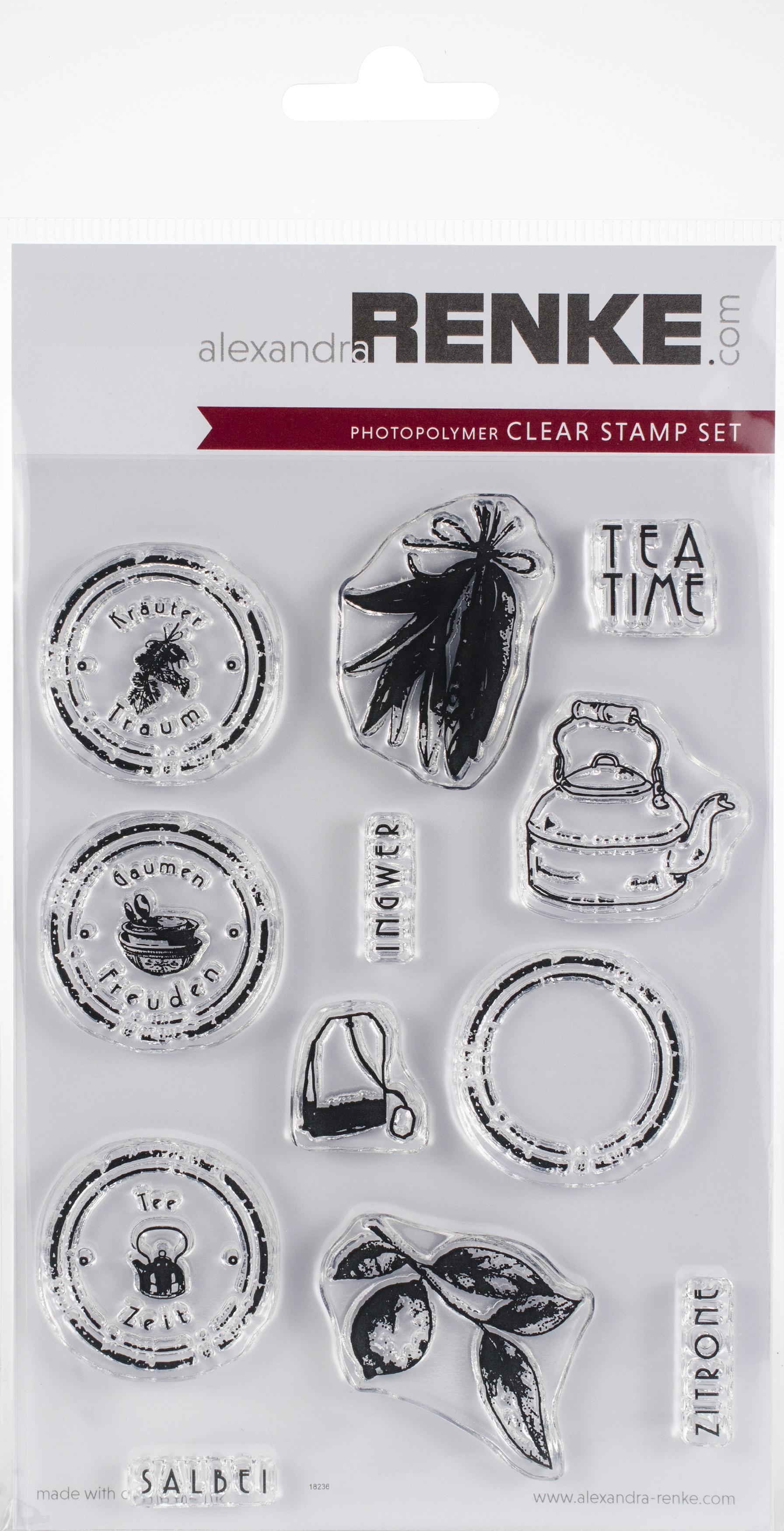 Alexandra Renke Cooking Clear Stamps-Tea