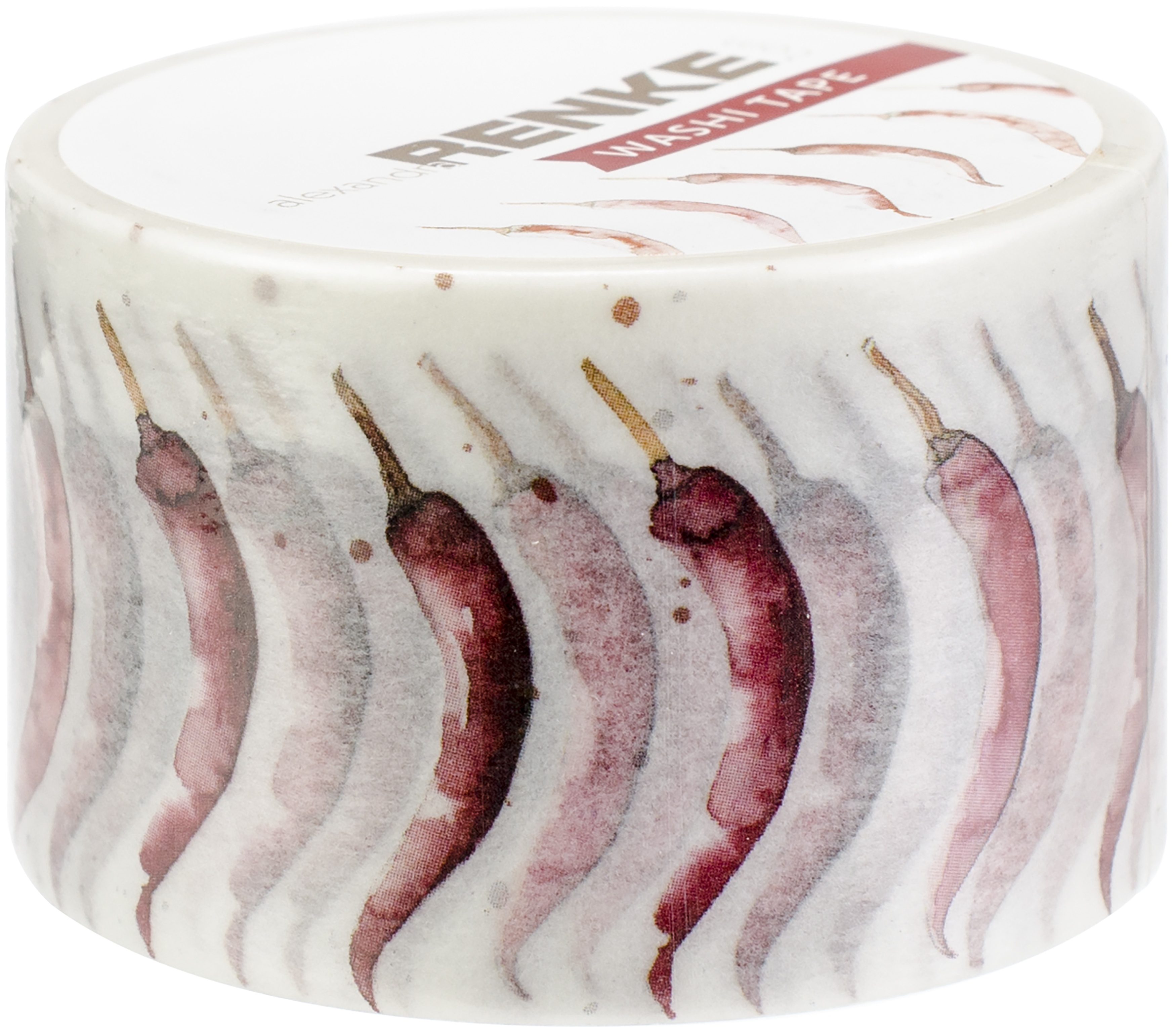 Alexandra Renke Cooking Collection - Chili Washi Tape - Ruban décoratif adhésif