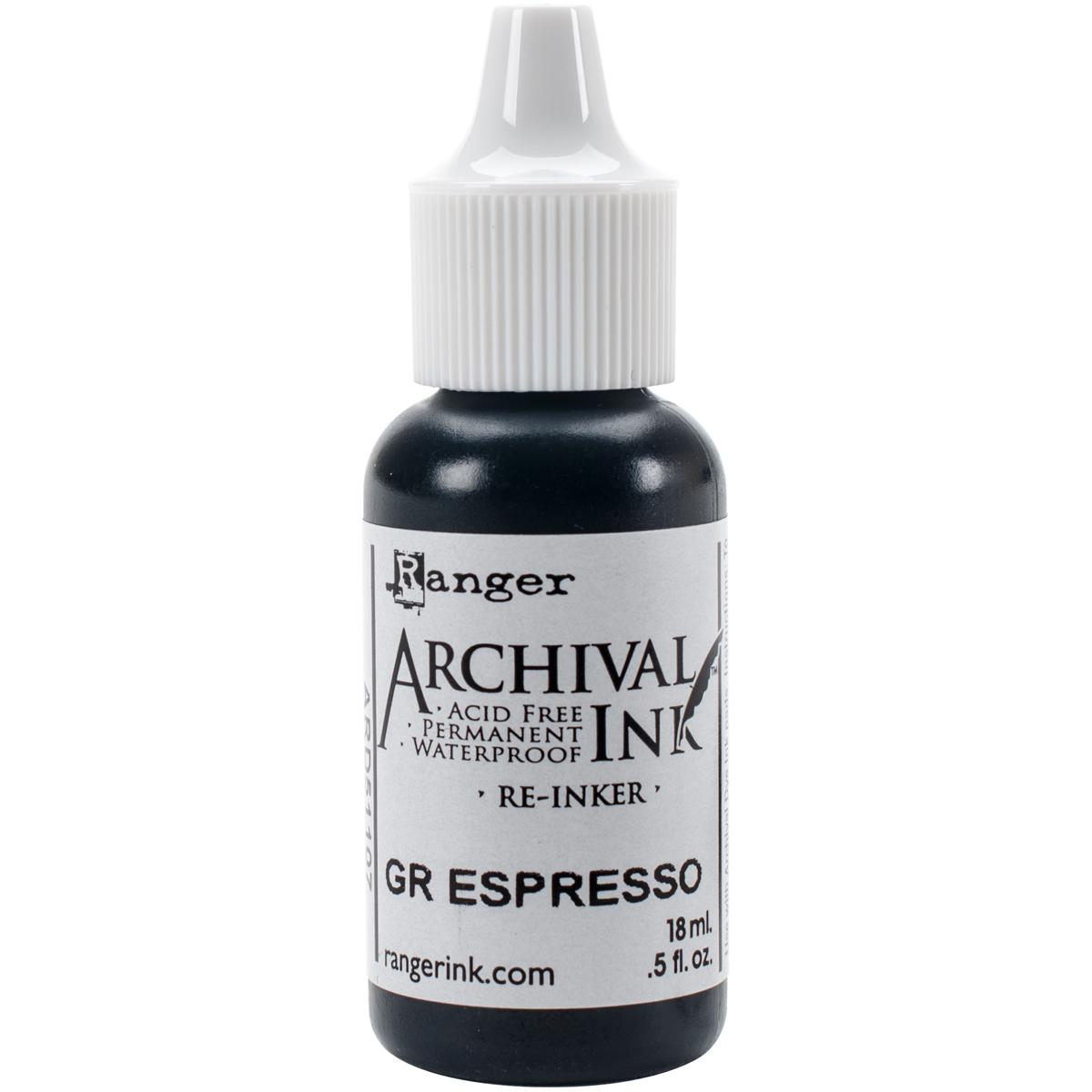 Tim Holtz Distress Archival Reinker-Ground Espresso