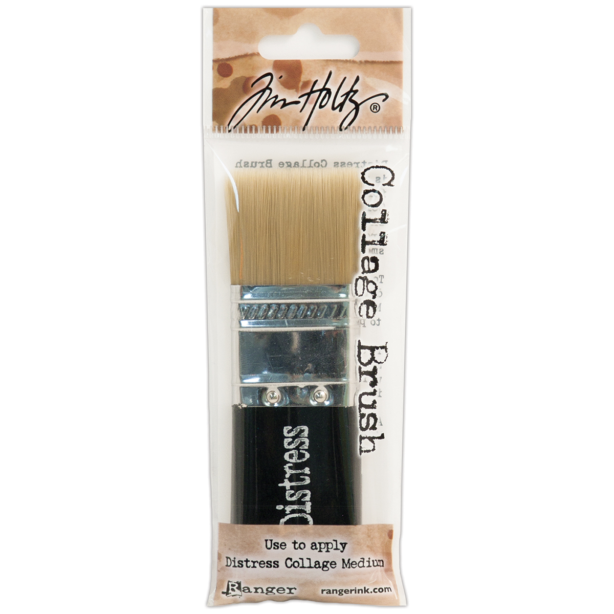 Tim Holtz Distress Collage Brush-1-1/4