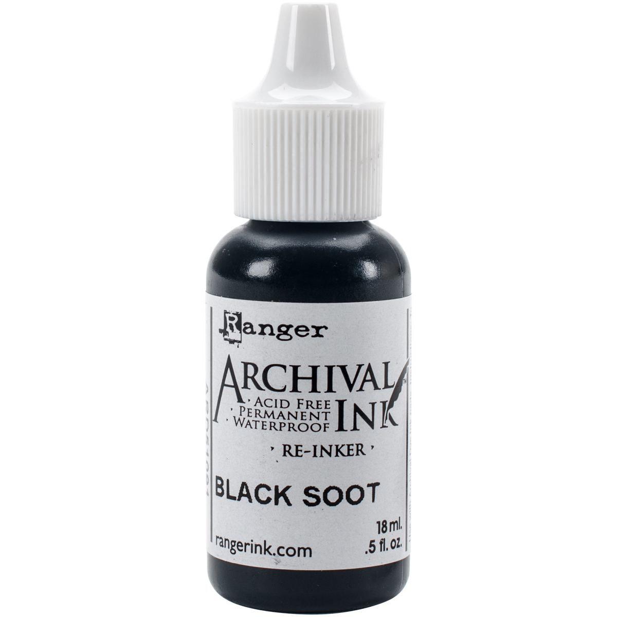 Tim Holtz Distress Archival Reinker-Black Soot