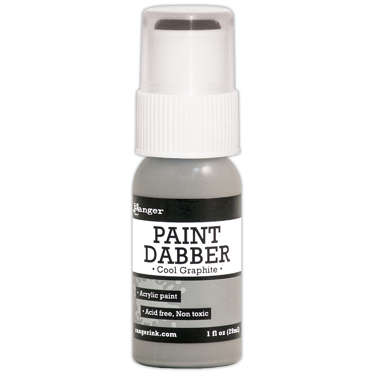 Ranger Paint Dabbers 1oz-Cool Graphite