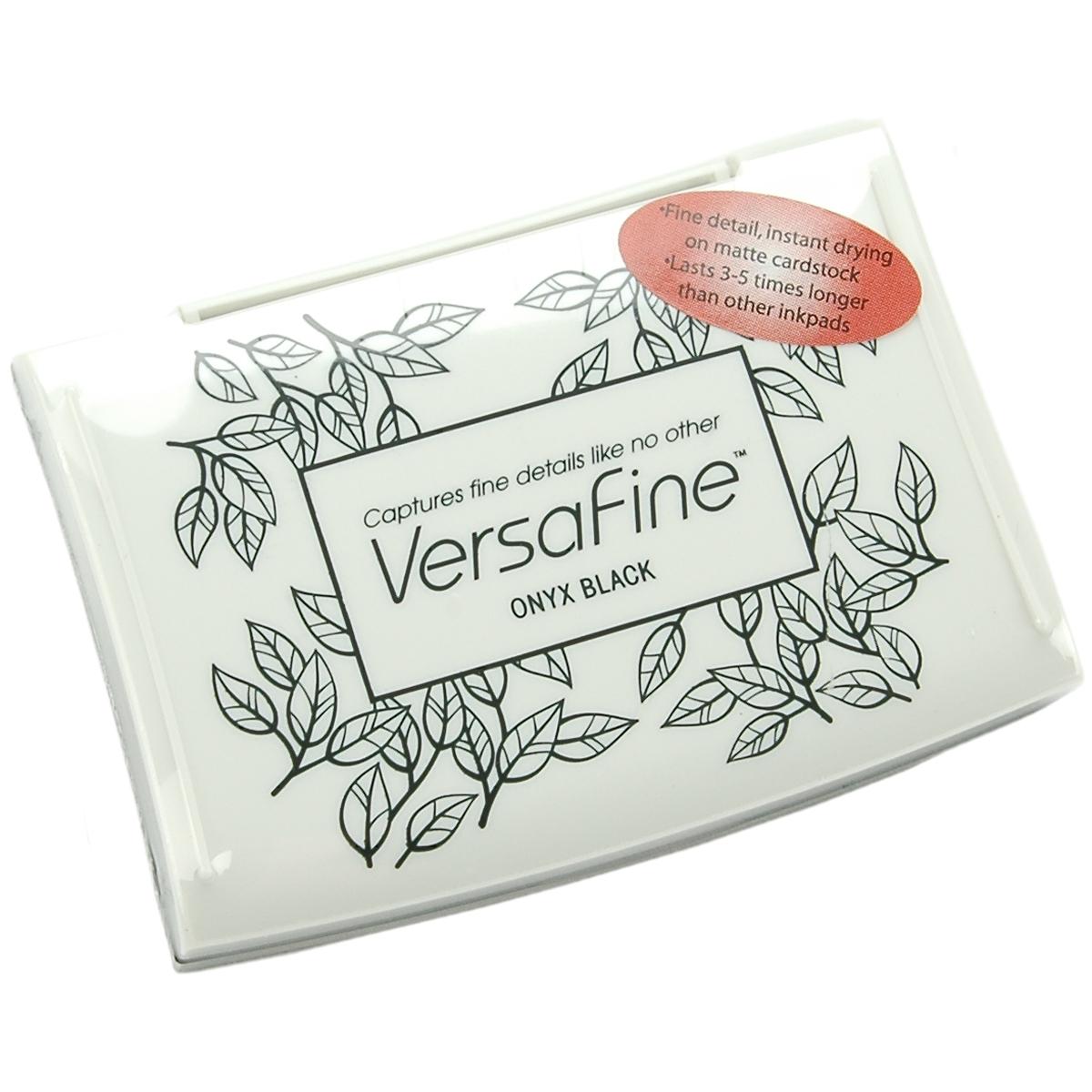 VersaFine Pigment Ink Pad-Onyx Black