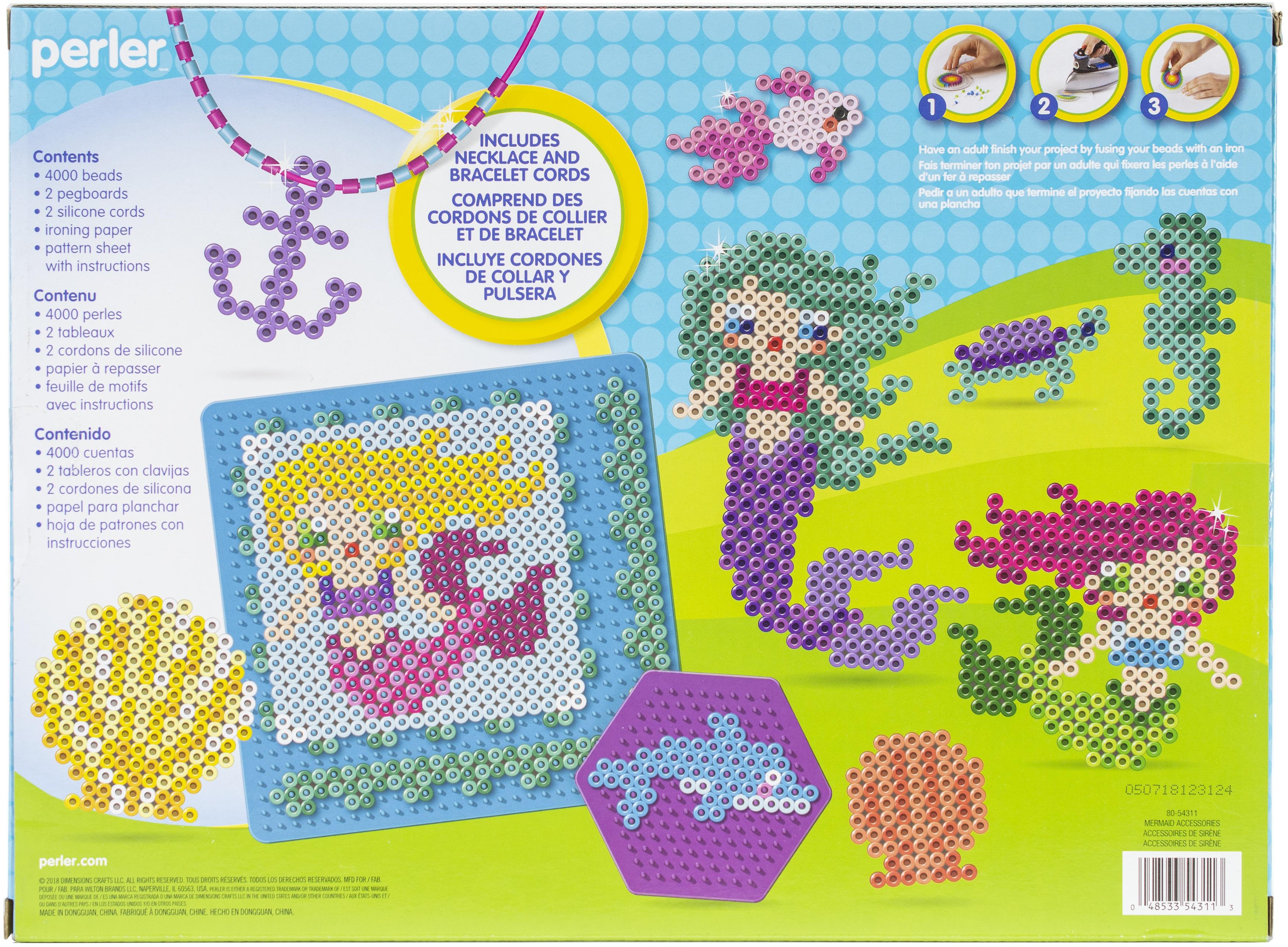 Perler Deluxe Fused Bead Kit-Mermaid