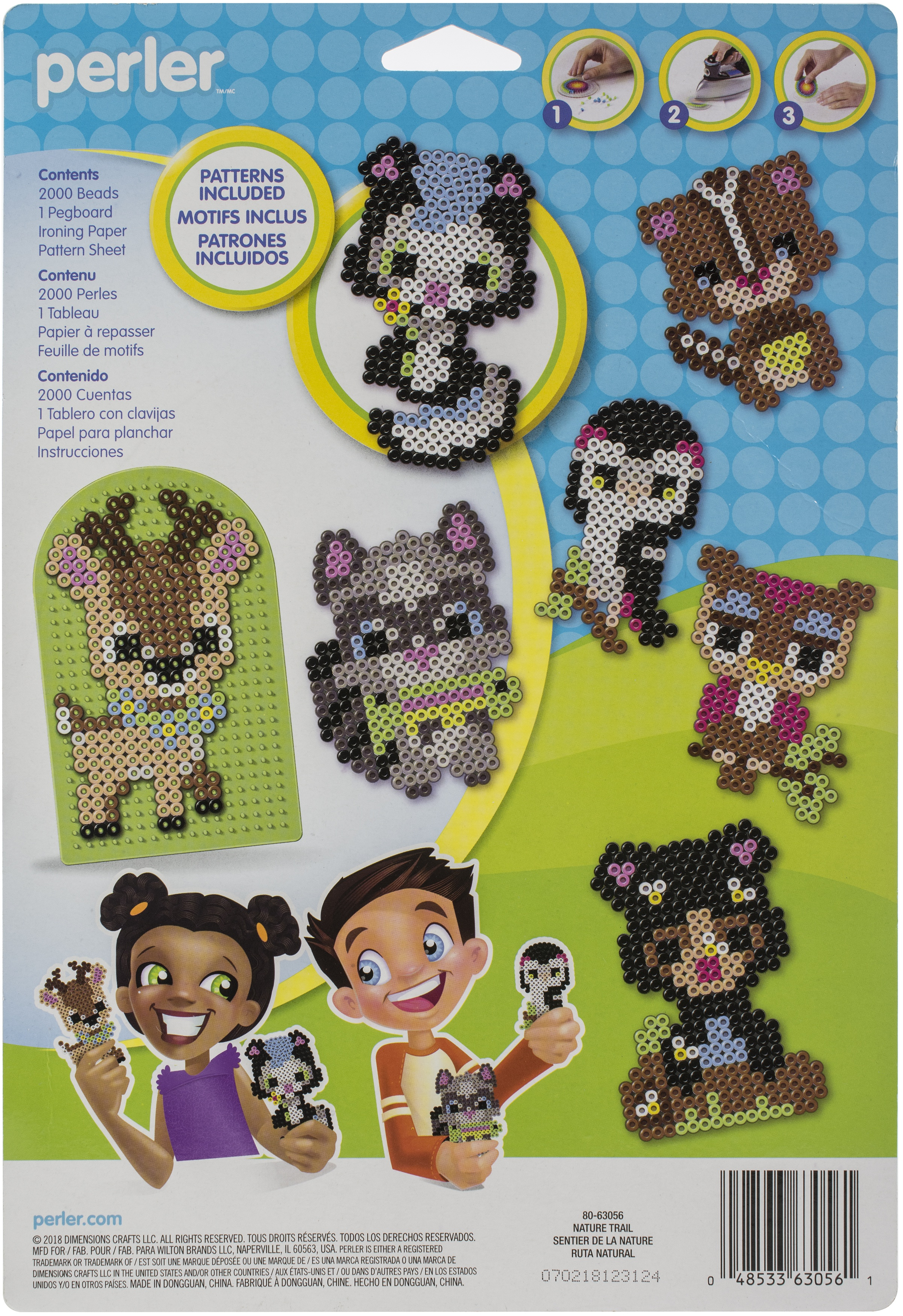 Perler Fuse Bead Activity Kit-Forest Friends Arch
