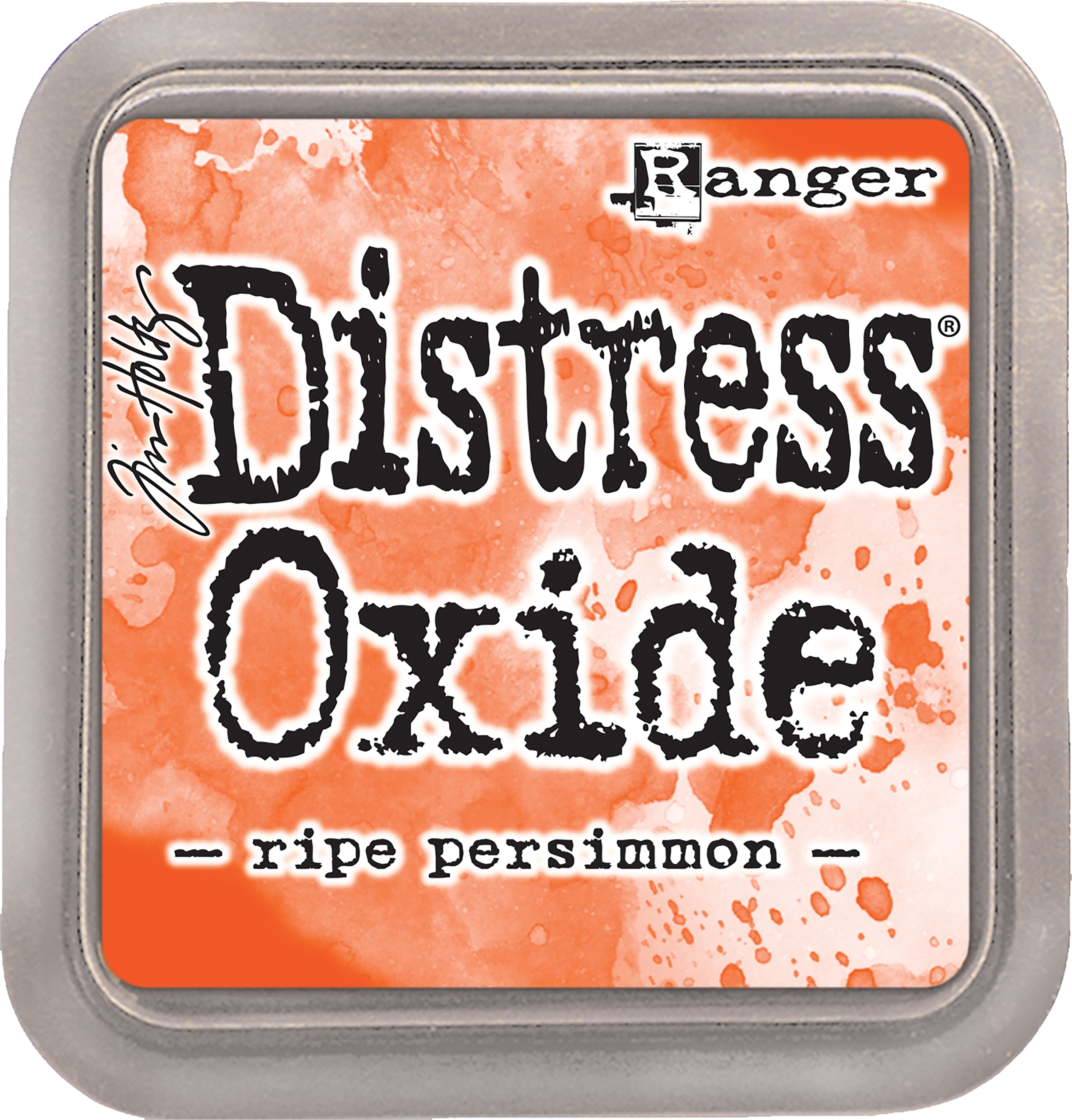 Tim Holtz Distress Oxides Ink Pad-Ripe Persimmon