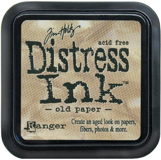 Tim Holtz Distress Ink Pad-Old Paper