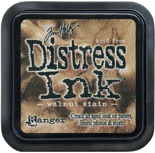 Tim Holtz Distress Ink Pad-Walnut Stain