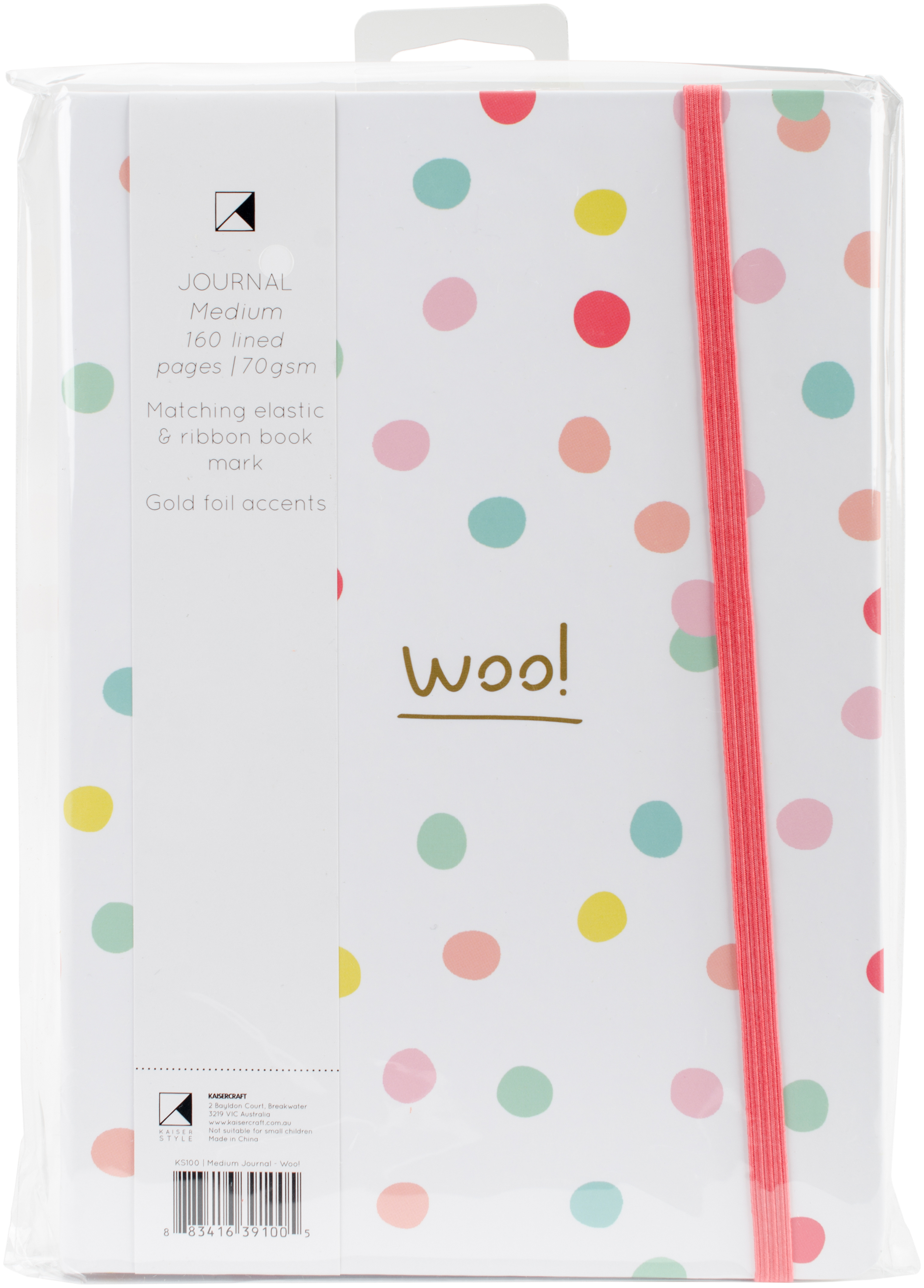 WOO!      -K STYLE JOURNAL 6X8