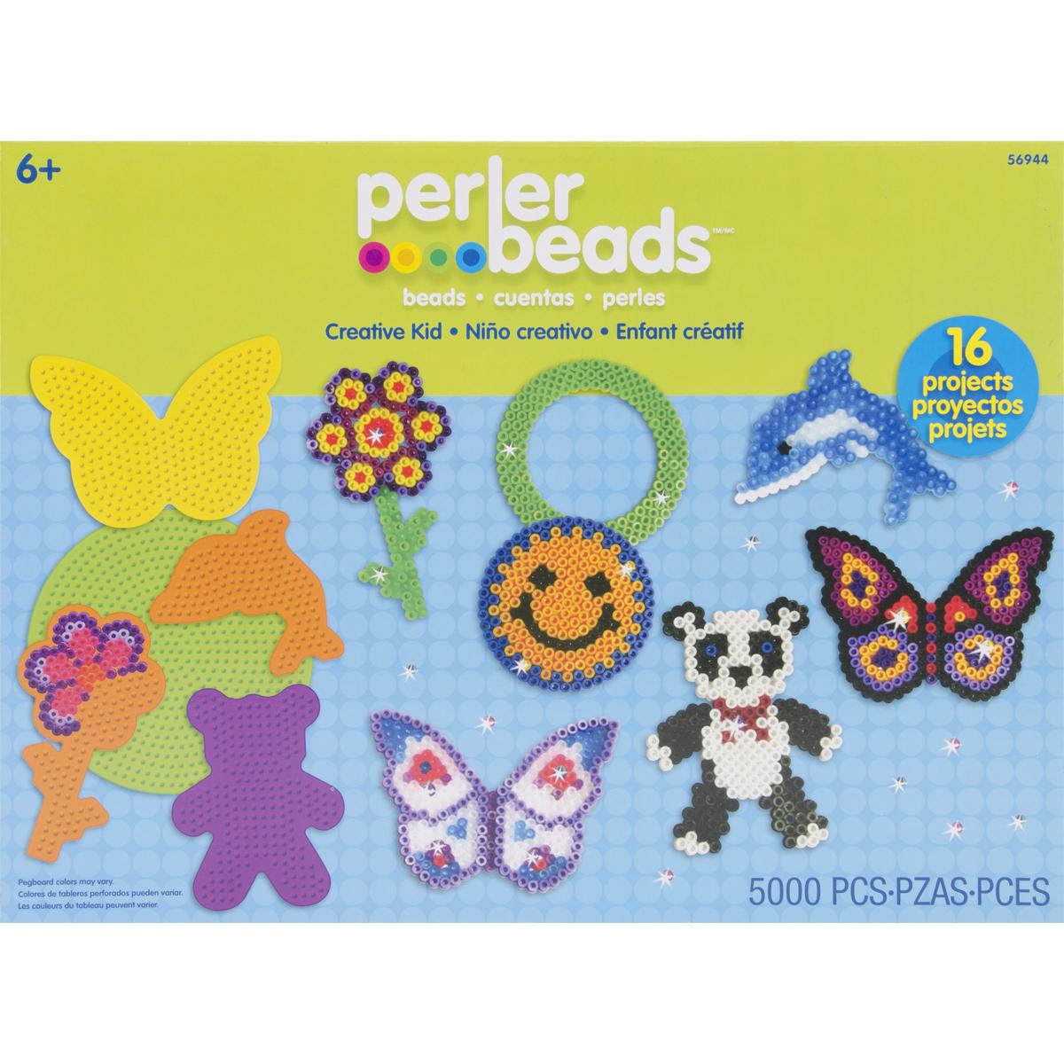 Perler Fused Bead Kit-Creative Kid