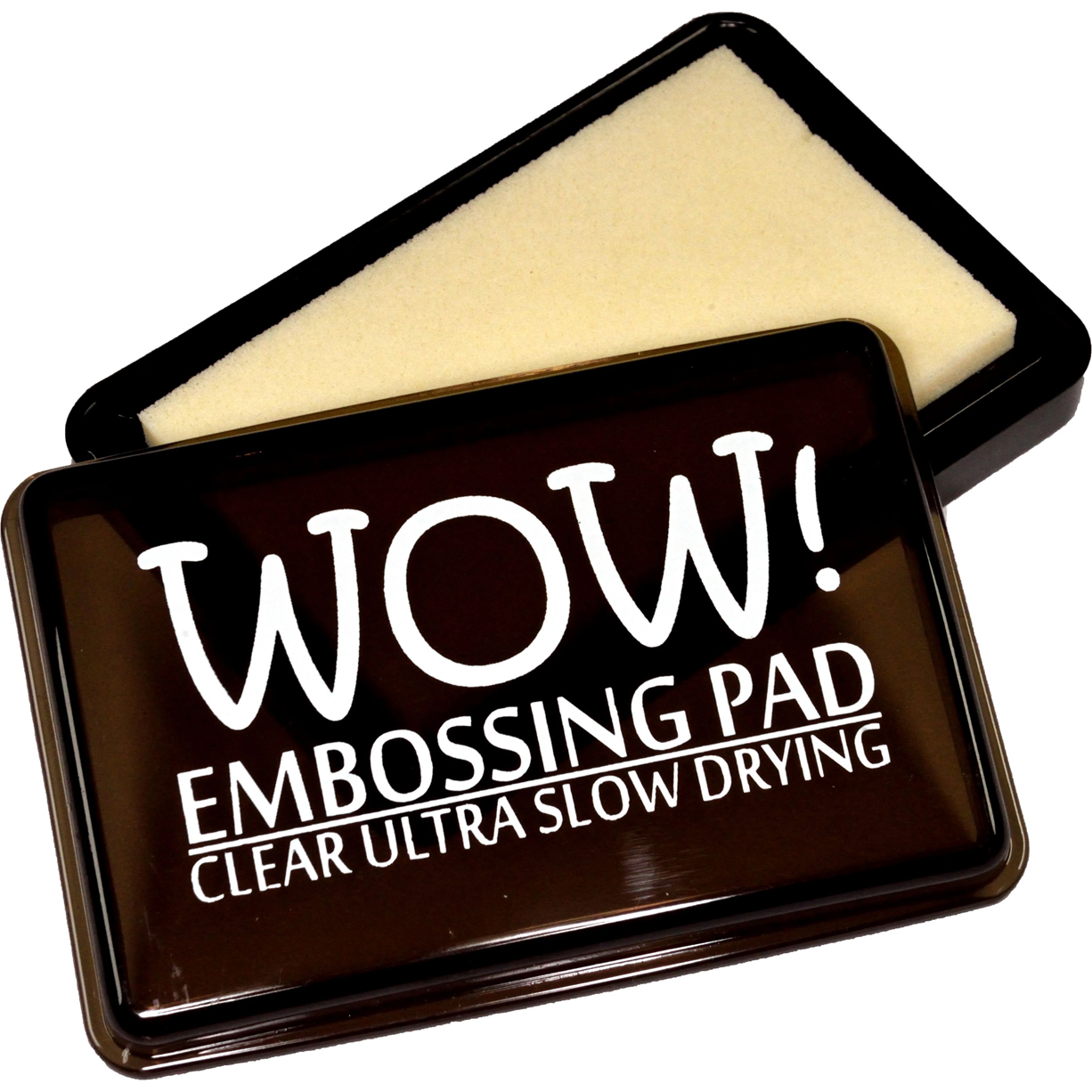 Wow! Slow Drying Ink Pad-Clear Ultra