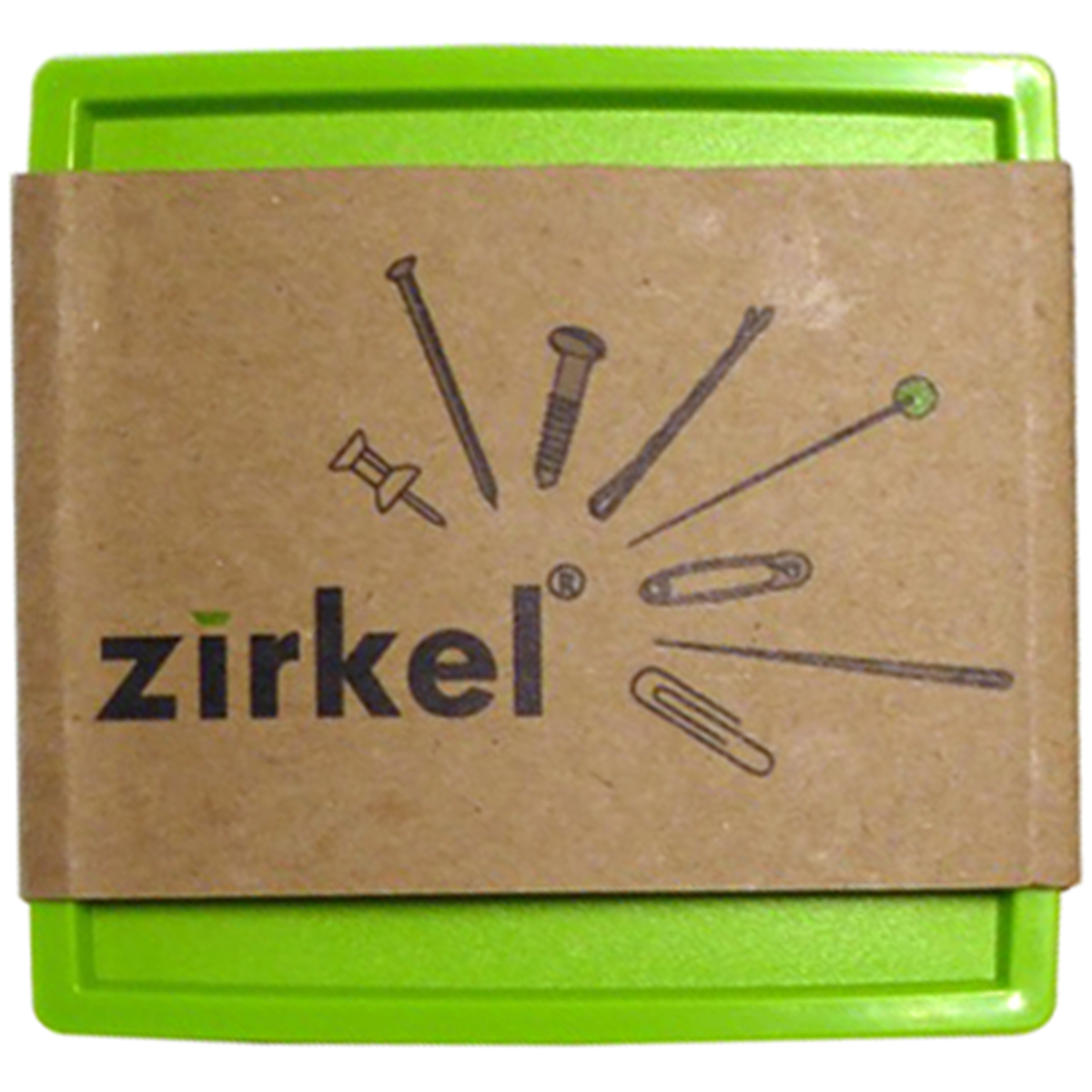 Zirkel Magnetic Organizer-Lime