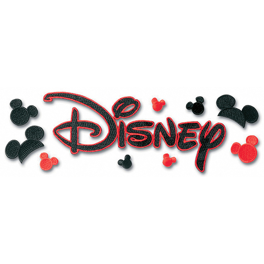 Disney Embroidered Sticker