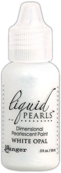 White Opal Liquid Pearls