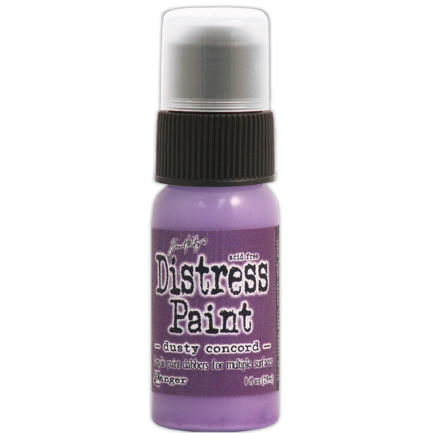 Tim Holtz Distress Paint Dabber 1oz-Dusty Concord