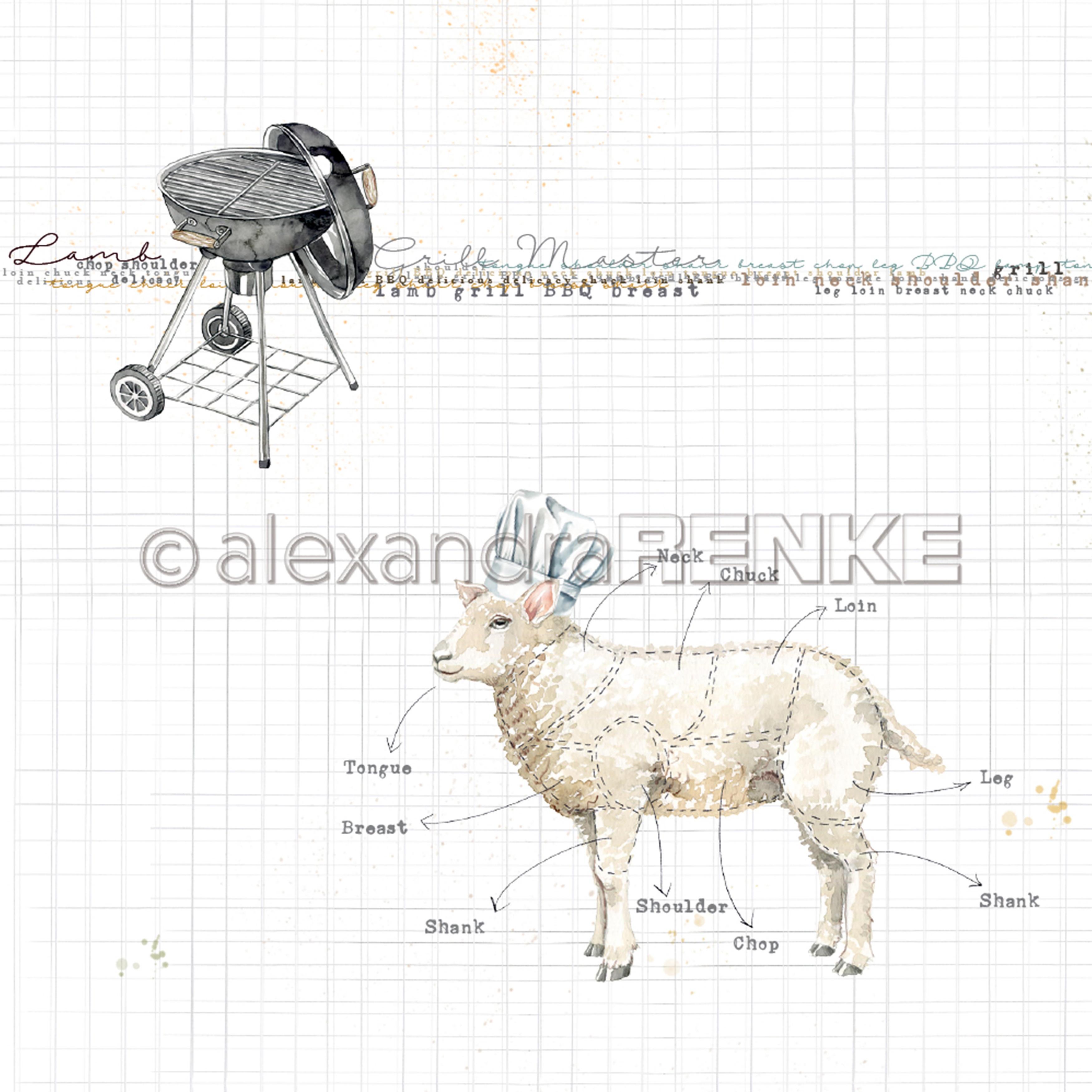 Cooking Paper Lamb